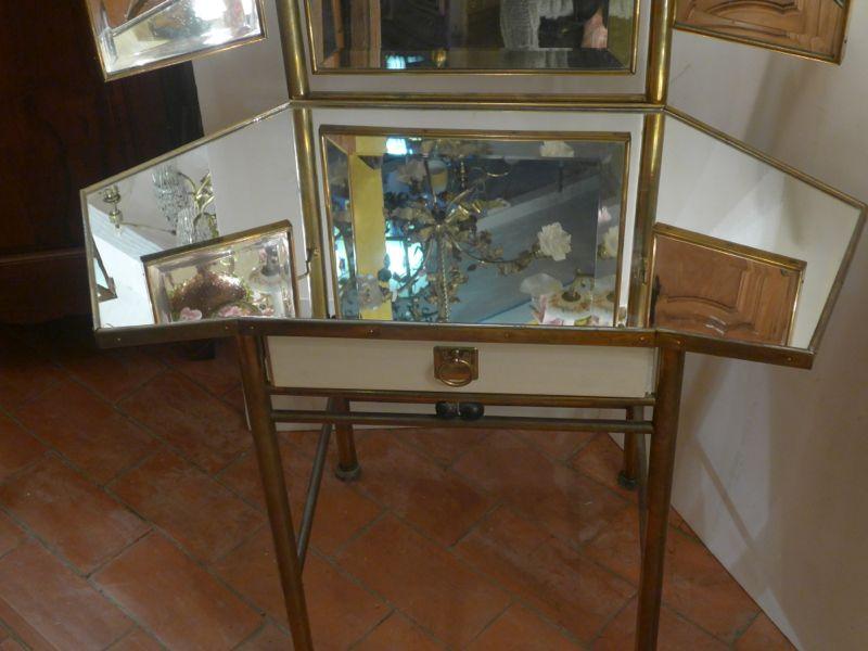 coiffeuse d 39 angle art nouveau s cessionniste vendu antiquit opio. Black Bedroom Furniture Sets. Home Design Ideas
