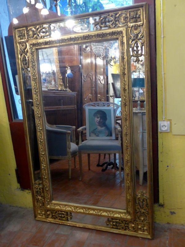 Autres la boutique magasin d 39 antiquit opio c te d 39 azur for Grand miroir cuivre